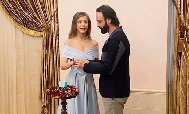 Илья Авербух и Лиза Арзамасова поженились