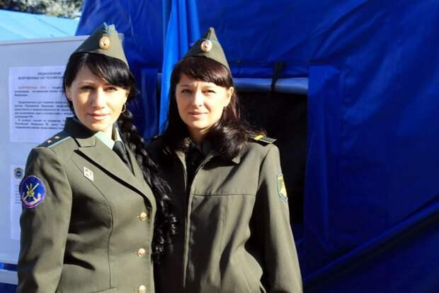 От тайги до британских морей ... : Лица девушек из Российской армии (47)