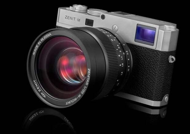 В России возрождена легендарная марка фотокамер «Зенит»