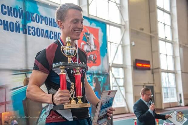 Поддержка всегда со мной: московский пожарный представил столицу на профессиональном конкурсе