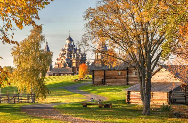 Россия: Карелия, музей-заповедник «Кижи»