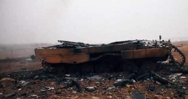 В Сирии за несколько минут были уничтожены15 турецких танков