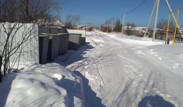 Администрация ГГО незаконно установила мусорную площадку вПокровском