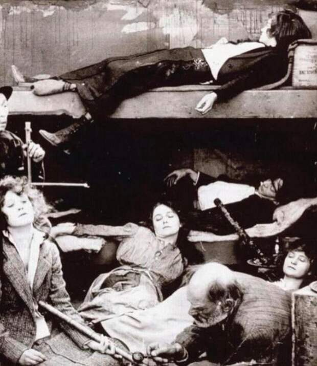 Опиумные притоны в США 19-го века