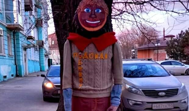 «Куклы вуду» появились надеревьях вТаганроге