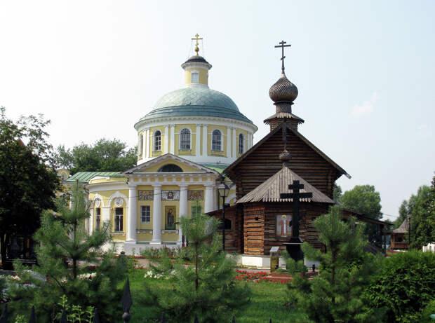 Храмовый комплекс в Косино  - РИА Новости, 1920, 03.10.2020