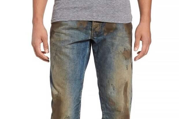 Джинсы в грязи от Иванки Трамп за 24 000 рублей грязь, джинсы, мода