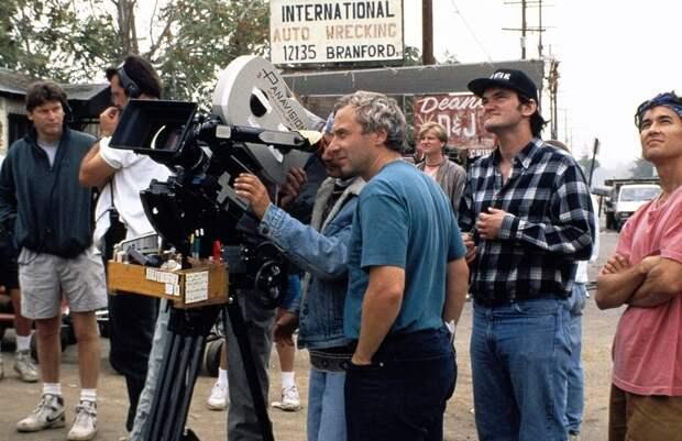 Эксклюзивные кадры со съемок «Криминального чтива»