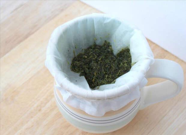 Альтернативный фильтр для чая и кофе.   Фото: Kitchen Decorium.