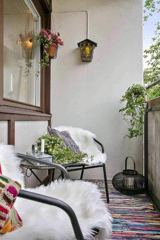 Узкая планировка балкона: как превратить недостаток в преимущество