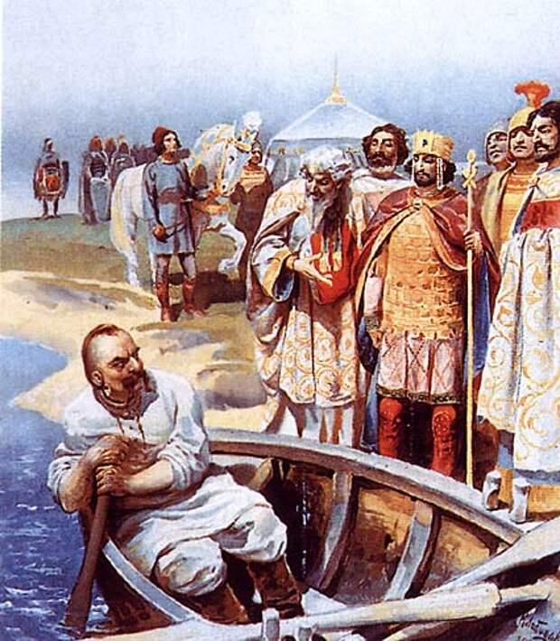 Русь в византийской дипломатии: договоры Руси с греками X в.