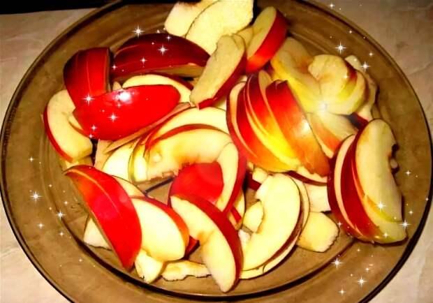 Яблоки в слойке (рецепт из слоеного теста)