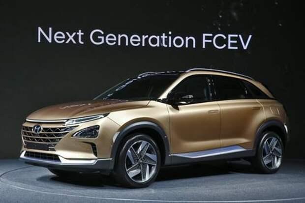 Мирный водород: Hyundai показала кроссовер будущего