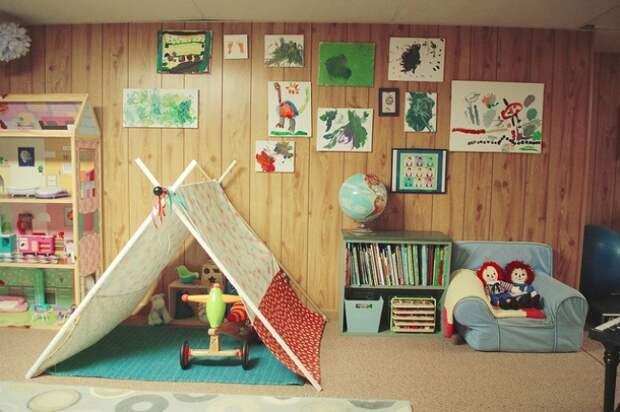 домик не на дереве детская площадка