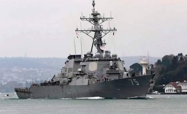 Какой сигнал отправил России «Дональд Кук» из Черного моря