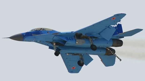 Экспертов NI испугали российские истребители МиГ-29 в Арктике
