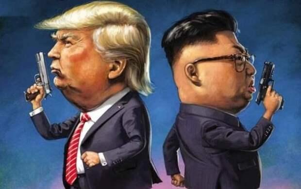 Ким из Москвы заставил Трампа просить о мире