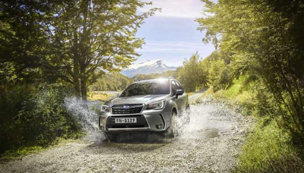 Обновленный Subaru Forester научили беречь корму