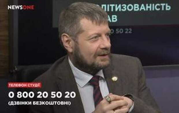 Мосийчук в истерике: нас унизил весь Запад