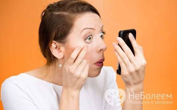 Изменение состояния глаз – признак того, что печень перегружена