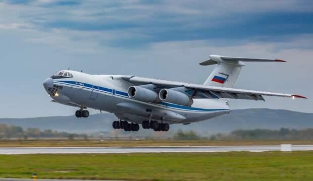 Ил-76 не даёт покоя американским военным