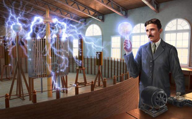 Какое секретное оружие на самом деле создал Никола Тесла