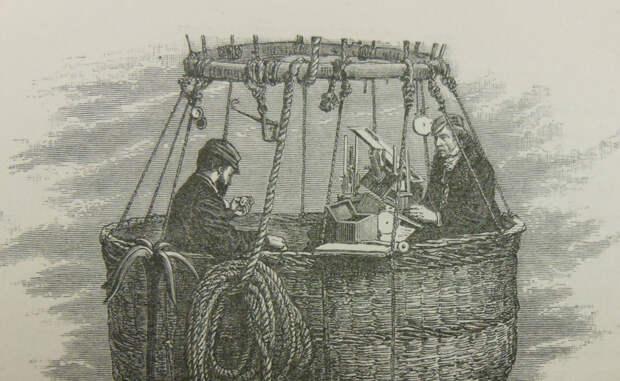 В ближний космос на воздушном шаре: первая попытка покорить небо в 1862 году