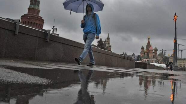 В Москве 6 мая потеплеет, ожидаются дожди