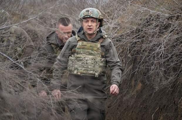 Зеленский предложил Путину провести встречу в Донбассе