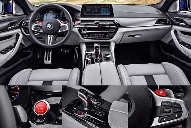 Модель BMW M5 стала одной из быстрейших в классе