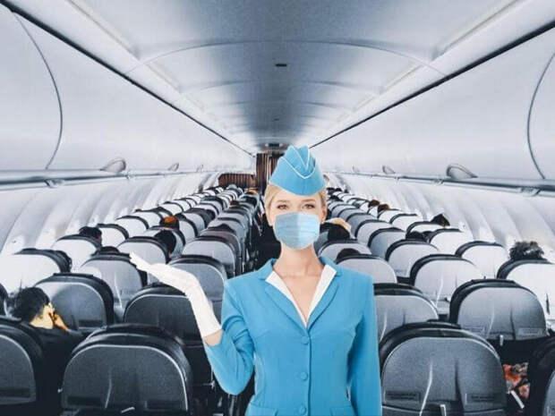 «Аэрофлот» выделил места для пассажиров, отказывающихся надевать маску в самолетах