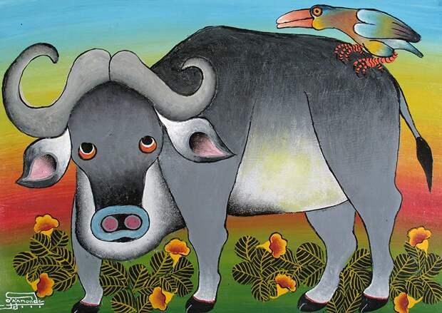 Тингатинга - волшебное искусство Танзании