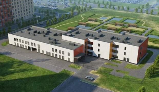 В «Новой» Москве началось строительство детского сада  на 275 мест