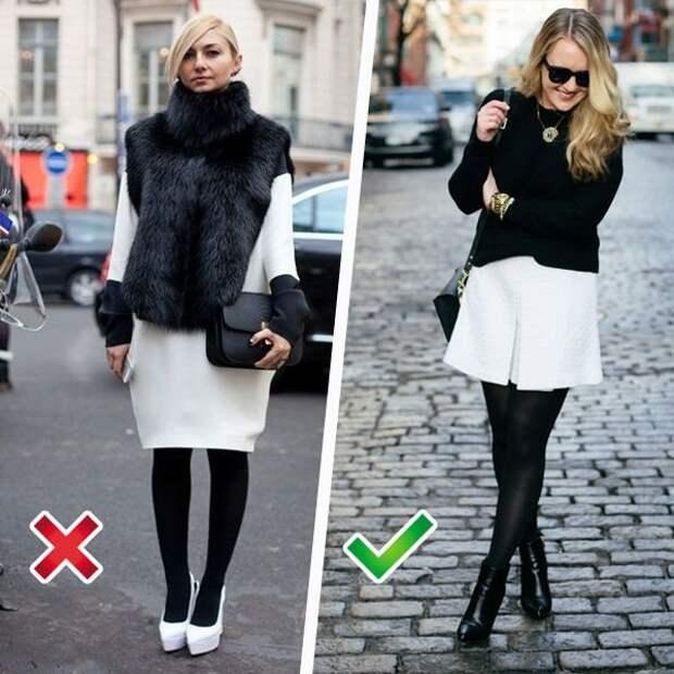 Одежда, в которой ноги визуально выглядят стройнее: фото образов