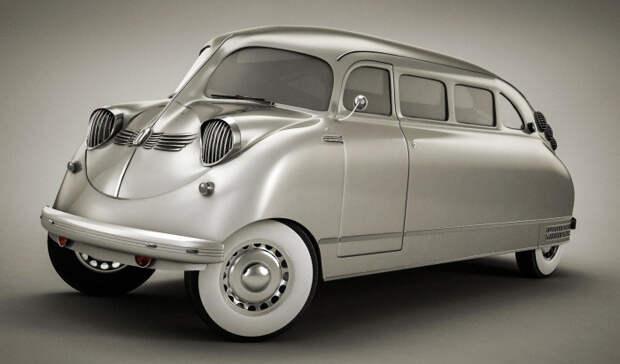 Stout Scarab авто, автодизайн, концепт