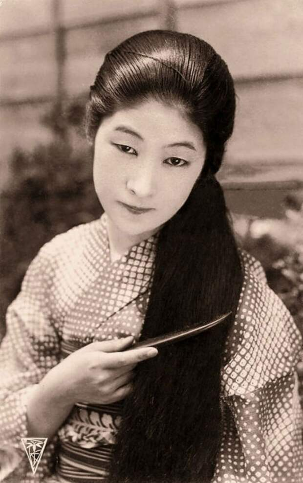 Самые красивые девушки мира наоткрытках 1900-х годов