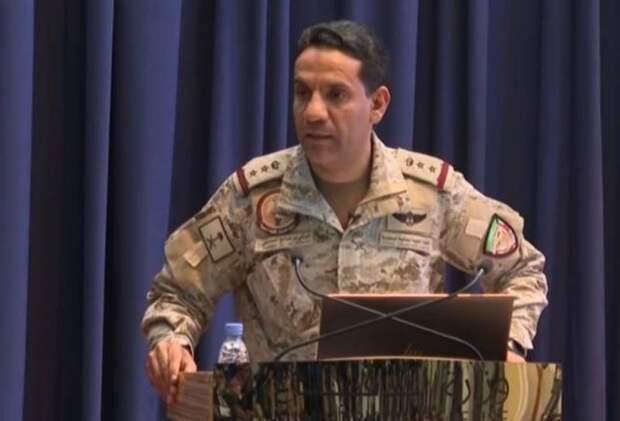 Коалиция не раскрыла данных, чем перехватила атаковавшие Саудовскую Аравию ракеты и БПЛА хуситов