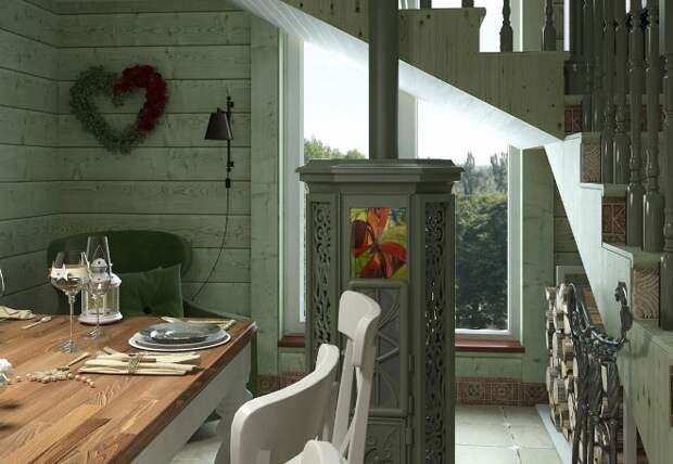 Стиль прованс в интерьере загородного дома (80 фото)