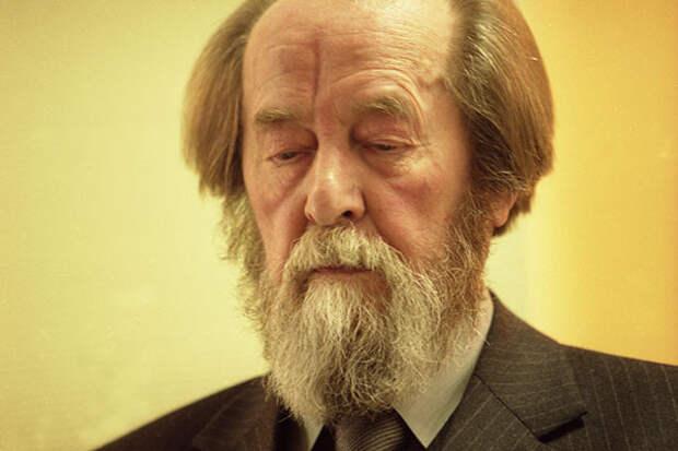Рассекречены документы по присуждению Нобелевки Солженицыну