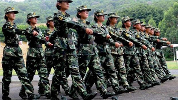 Китайский спецназ Великий Дракон имеет только один отряд специального назначения, в котором нет бойцов мужского пола. Его база находится в Гонконге, а всего подразделение насчитывает две сотни солдат.