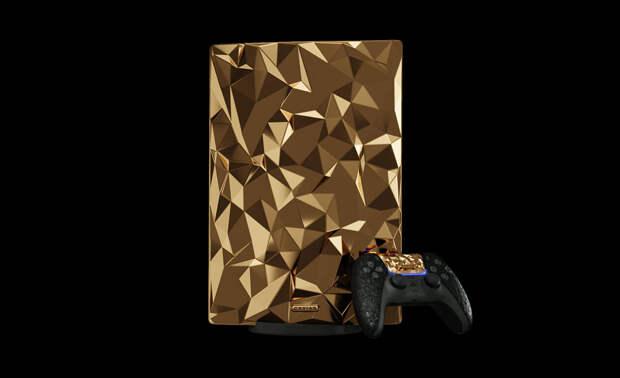 Caviar представила золотую консоль PlayStation 5 за 38 млн рублей