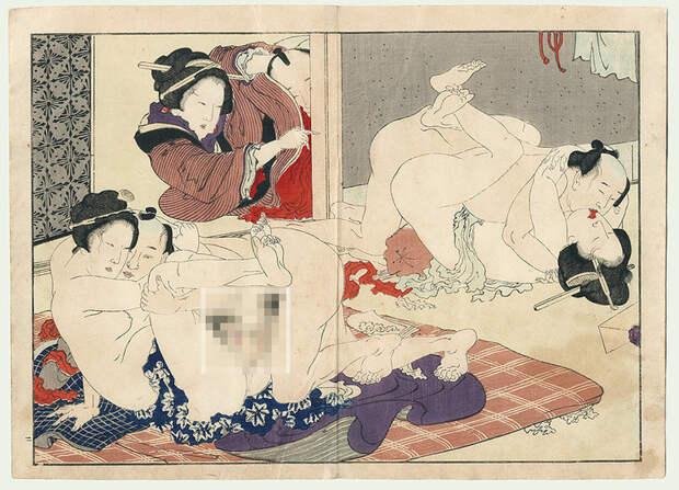 Только без поцелуев: культура секса уяпонцев доXX века