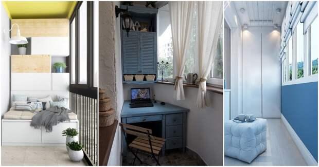 18 отличных способов разгрузить квартиру с помощью балкона