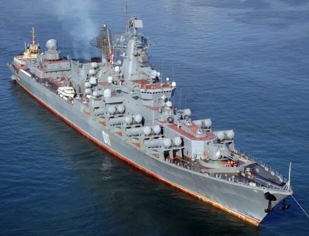 """Ракетный крейсер """"Варяг"""". Источник изображения: https://www.rusdialog.ru"""