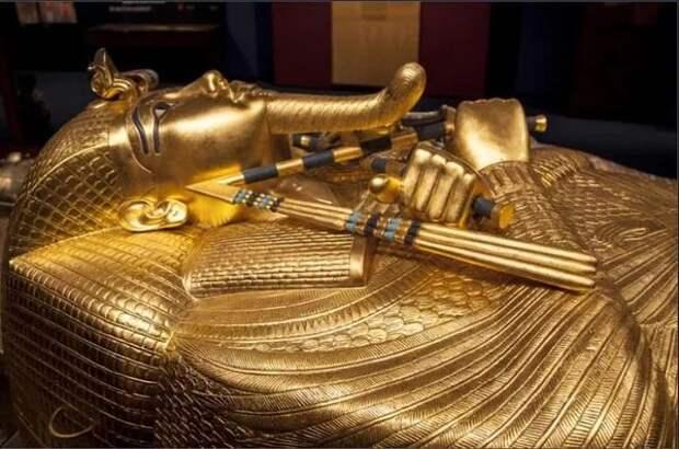 Кровать Тутанхамона была древним чудом