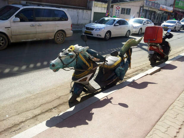 Оригинальный транспорт.