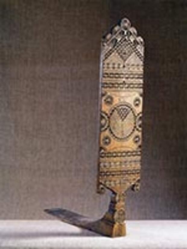 Прялка. Олонецкая губ. из коллеции Русского музея