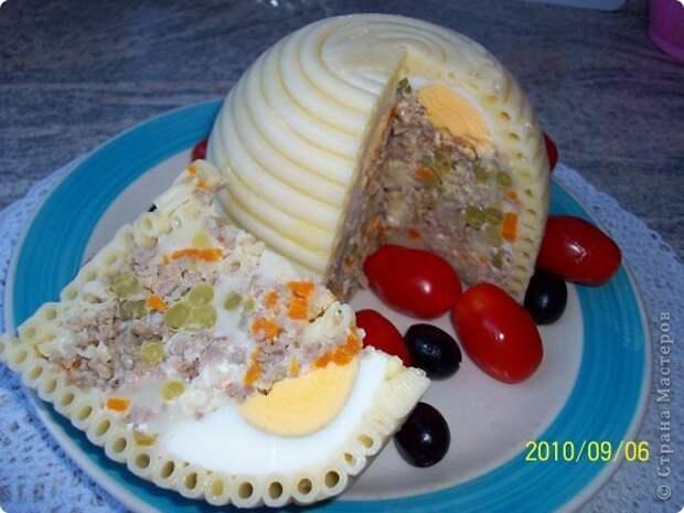 Закуска из макарон