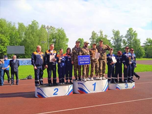 Сотрудники «Жилищника» района Лианозово взяли серебро на соревнованиях по гражданской обороне