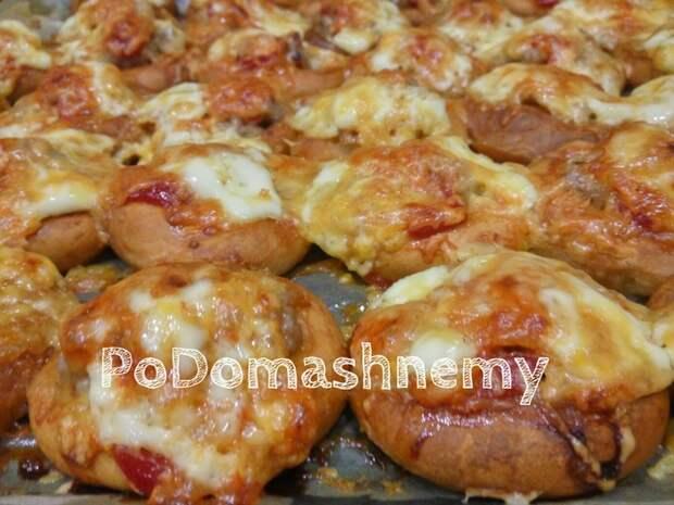 Мини пиццы из бубликов и фарша Мини пицца, Бублики с фаршем, Видео рецепт, Рецепт, Фарш, Бублики, Видео